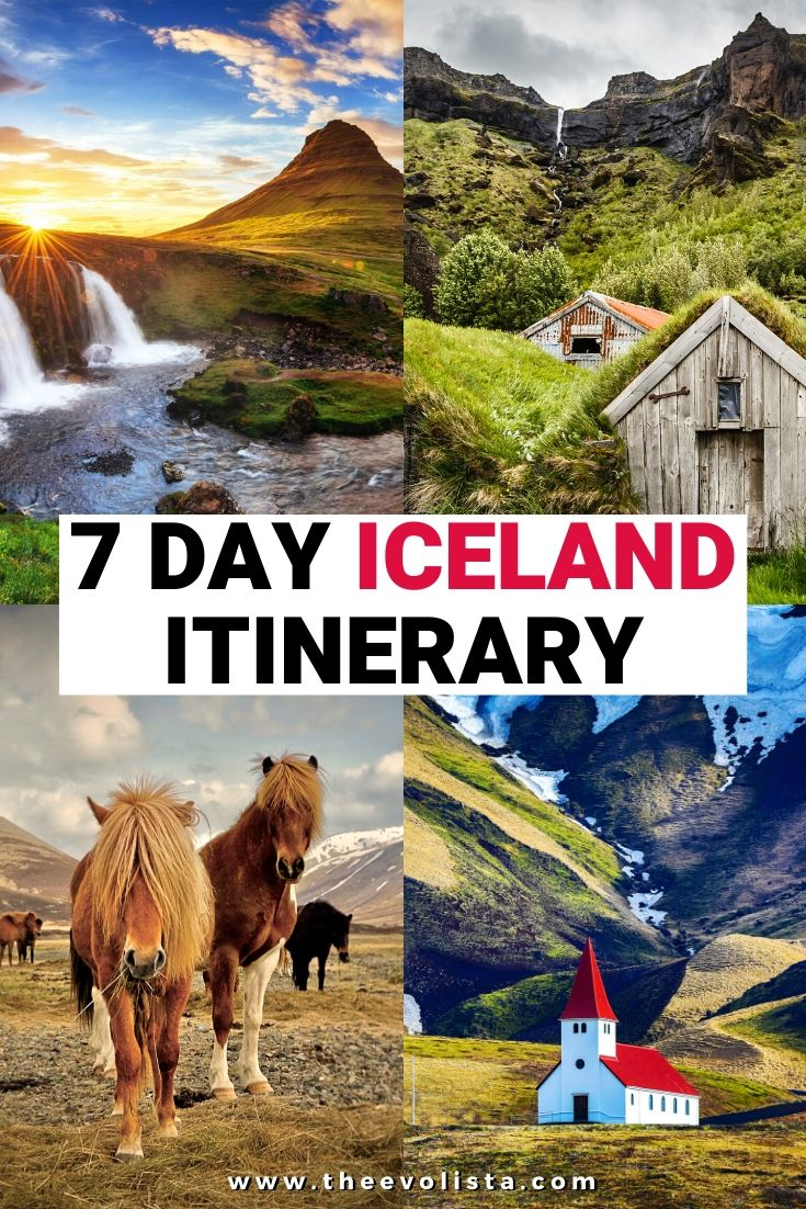 7 Day Iceland Itinerary