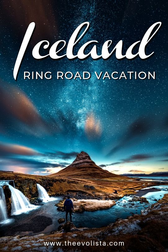 Evolista Iceland Ring Road pin
