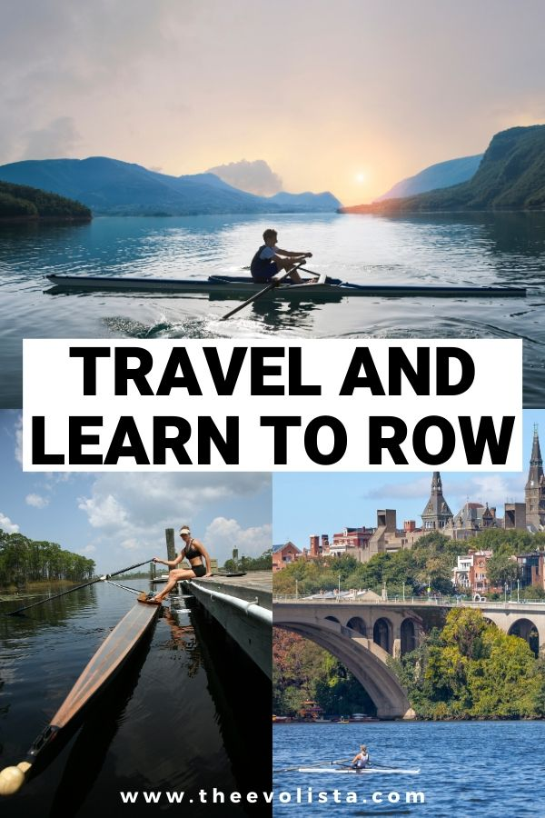 Learn to Row Pin