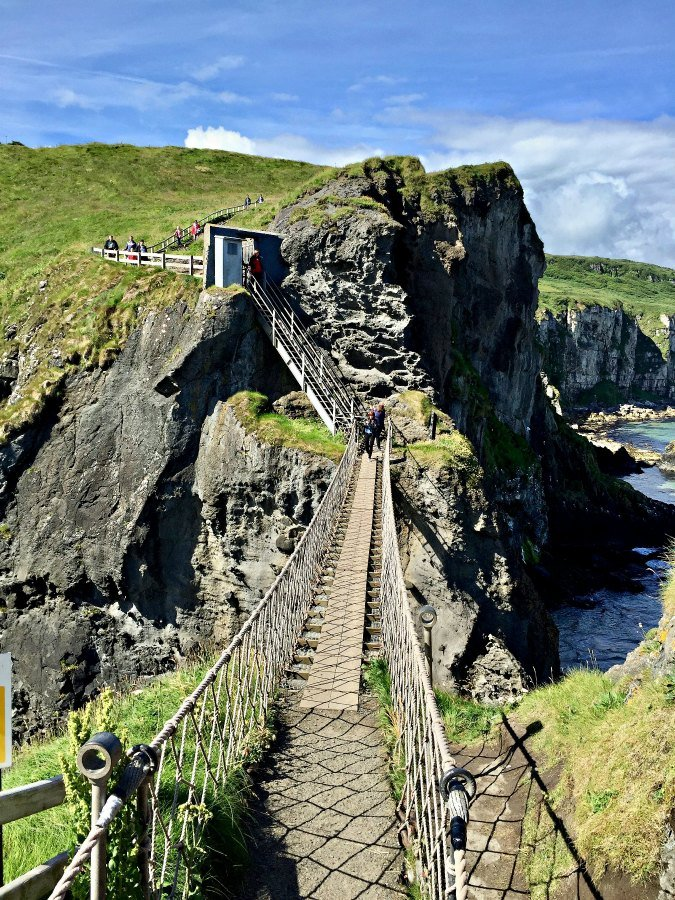 Things to do in Northern Ireland Carrick A Rede Rope Bridge-2