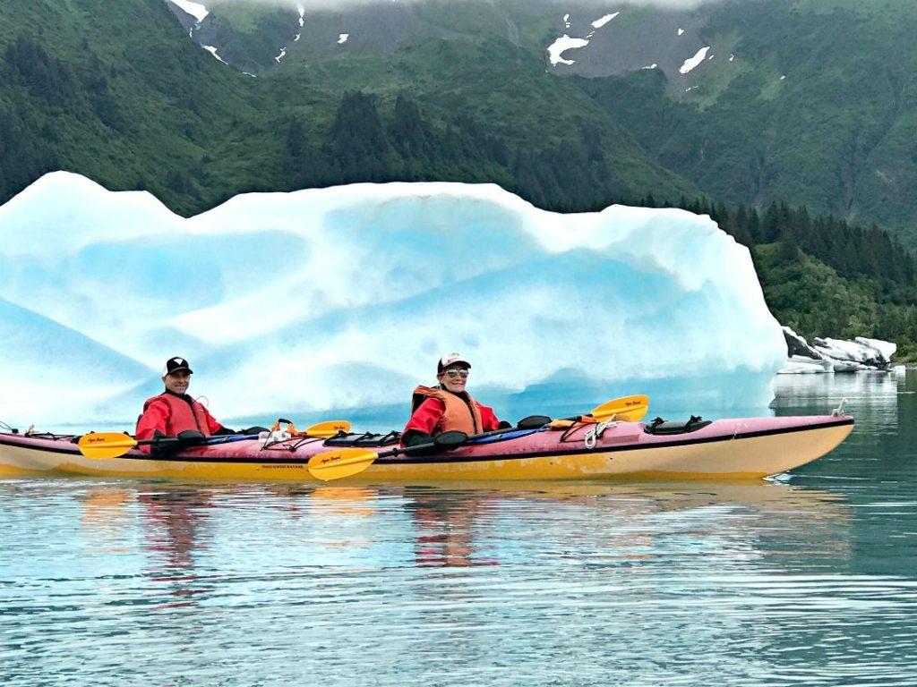 Alaska summer trip kayak