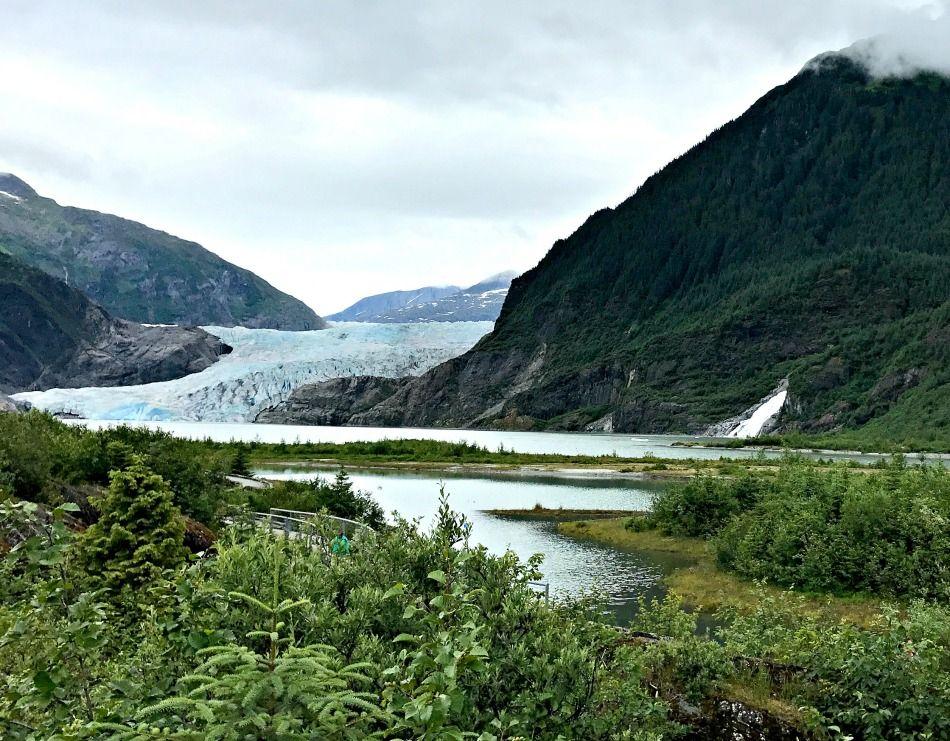 Alaska summer trip - Mendenhall glacier