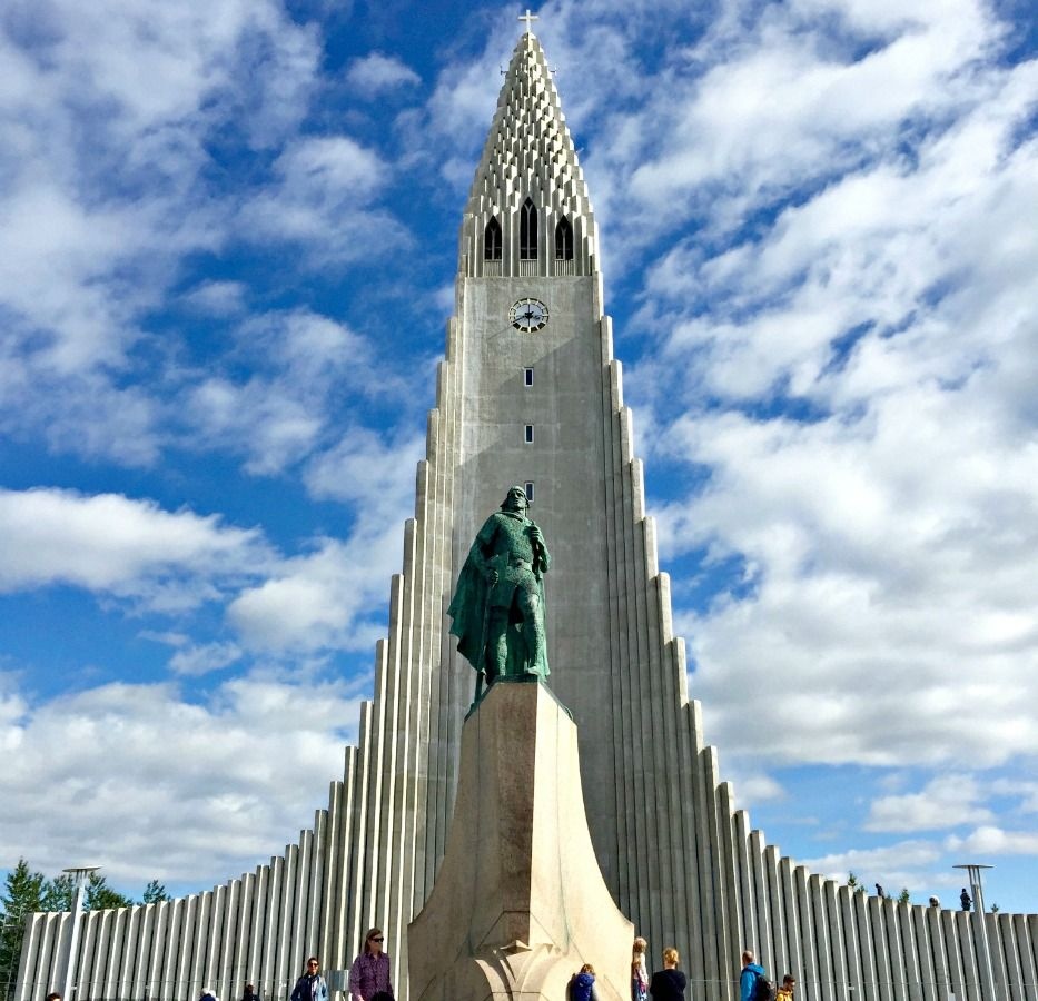 Iceland-vacation-church
