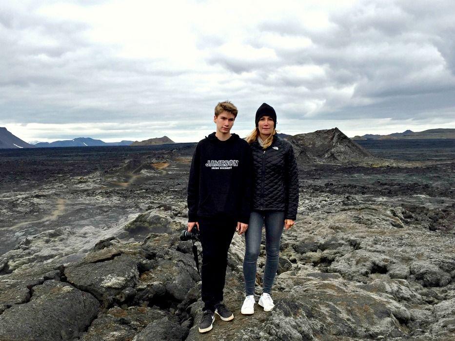 Iceland Ring Road krafla lava field