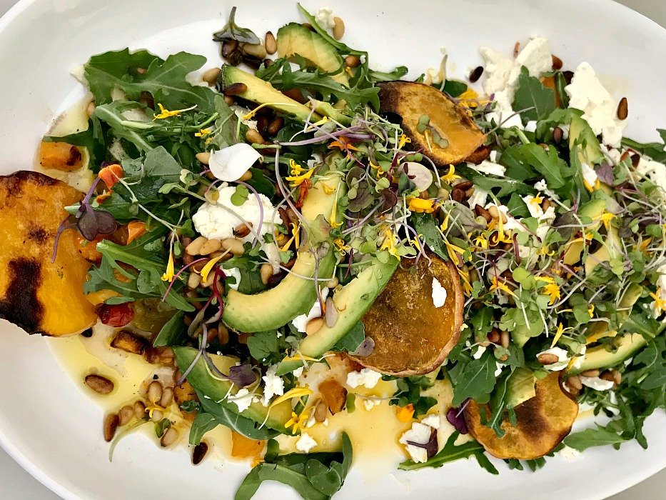 Butternut & Roasted Tomato Summer Salad