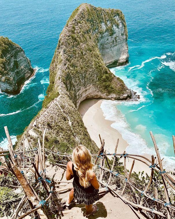 Instagrammable Bali Kelingking Beach