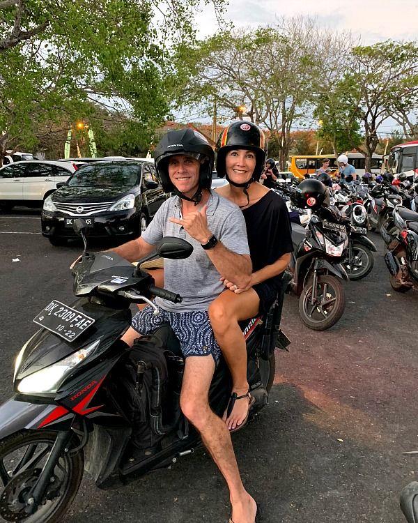 Motorcycle Uluwatu