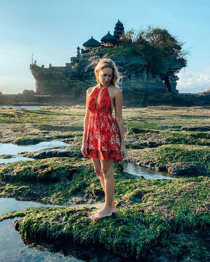 Instagrammable Bali Tanah Lot Temple