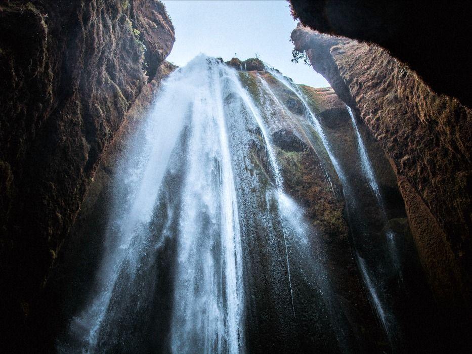 Iceland Waterfalls Gljúfrabúi