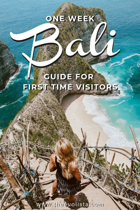 One Week Bali Itinerary 7 Days