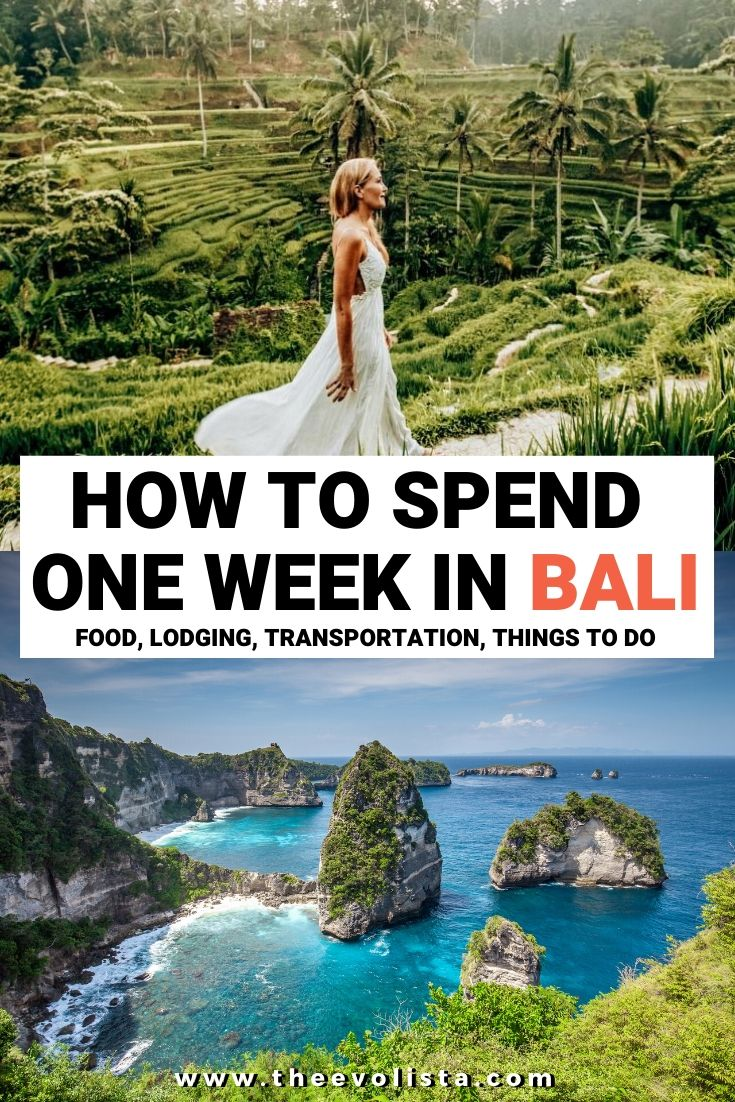 One Week in Bali
