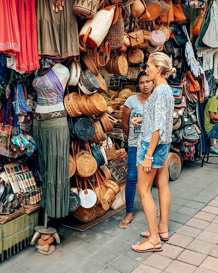 Ubud Shopping Bali Itinerary 7 days