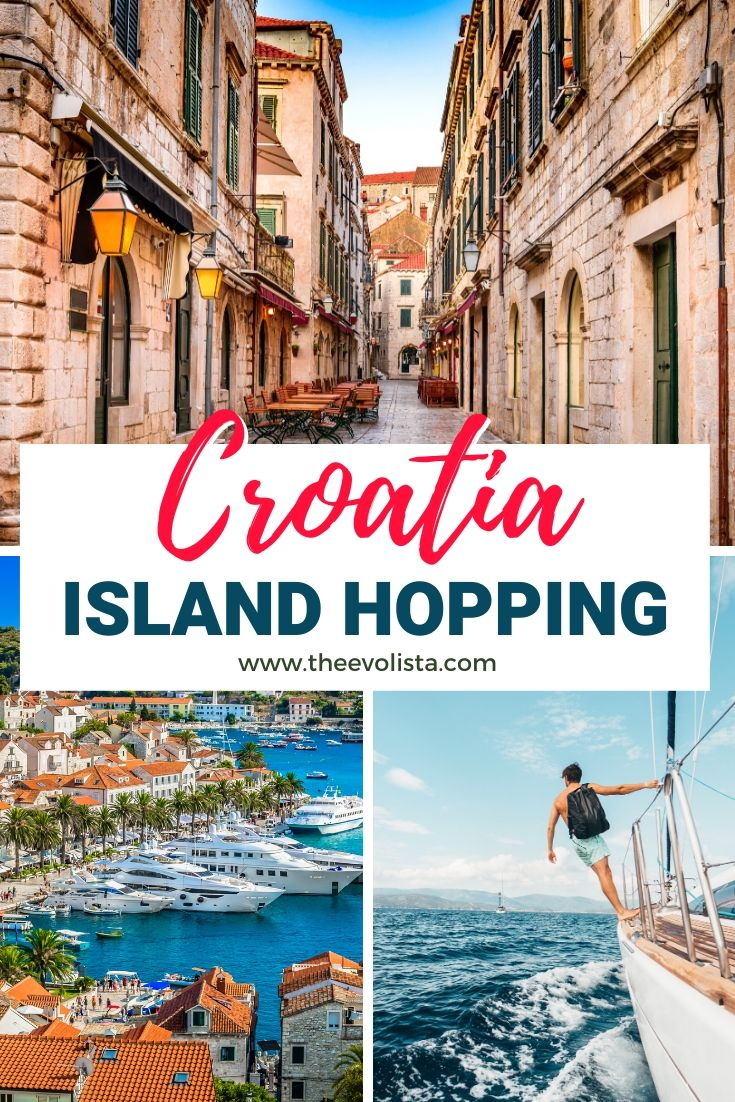 Croatia Island Hopping Pin 2