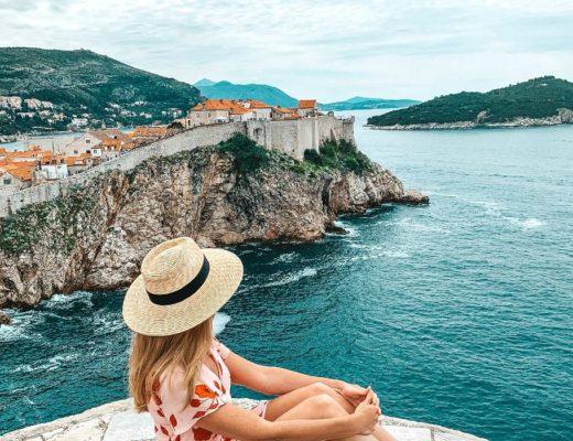 Croatia Island Hopping view of Dubrovnik & Lokrum