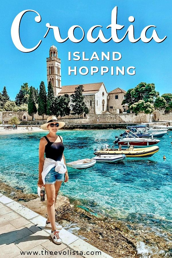 Croatia Island Hopping Pin 1