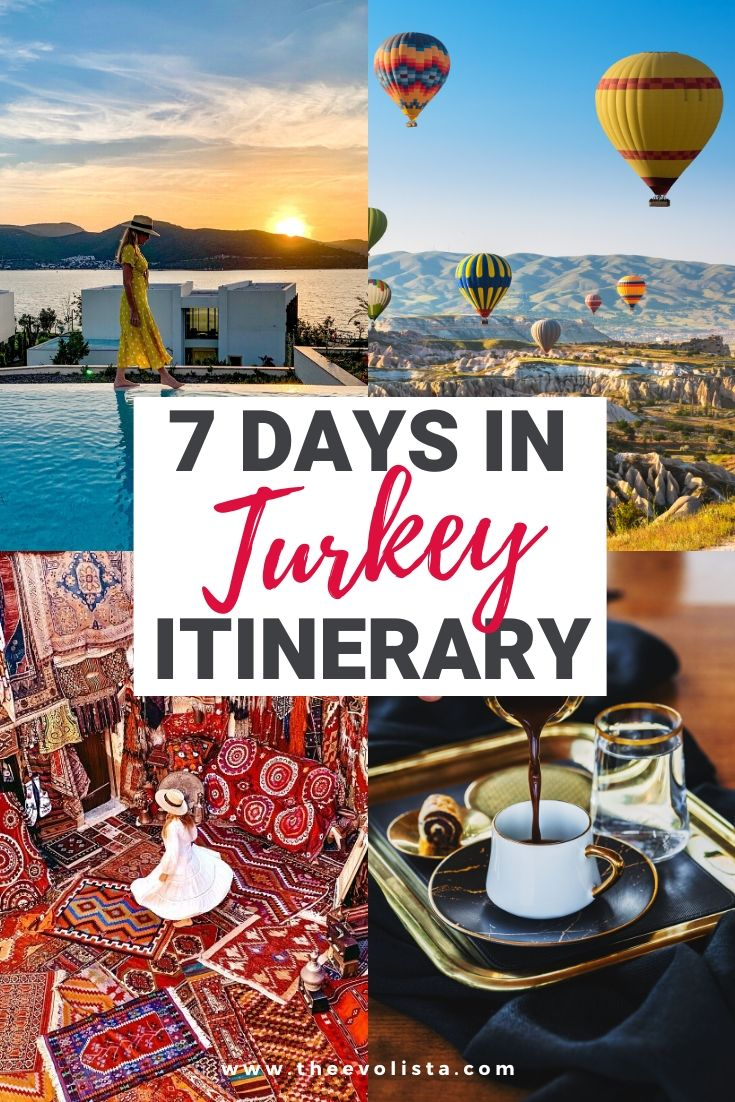 7 Days in Turkey Itinerary