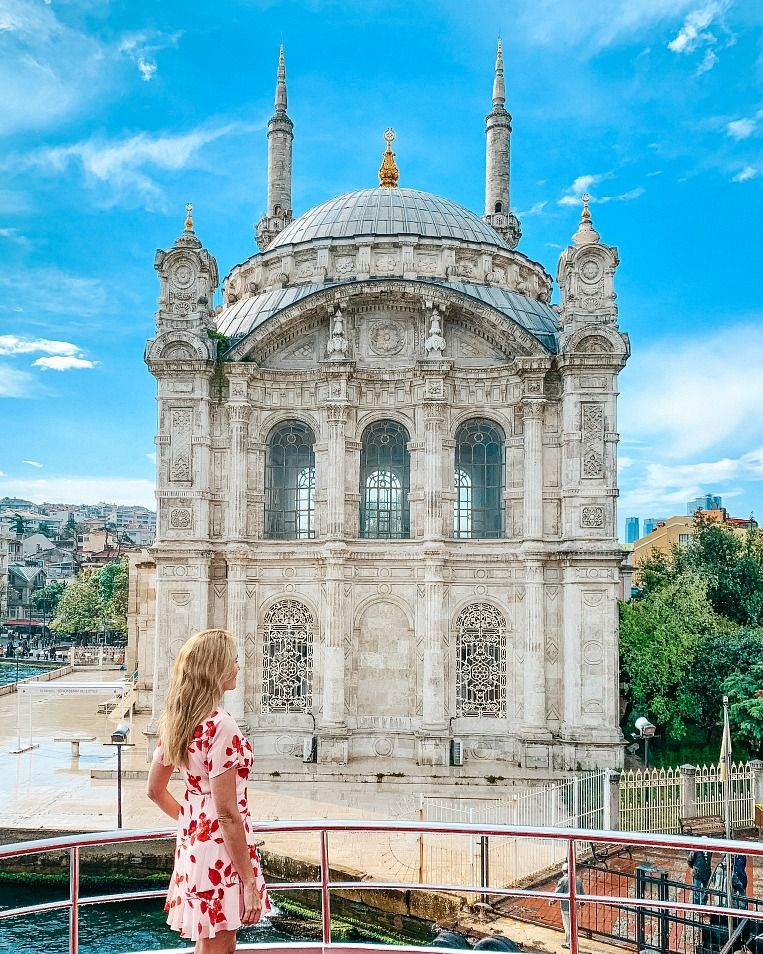 7 Day Turkey Itinerary Ortakoy Mosque