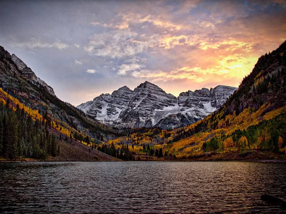Maroon Bells Colorado October