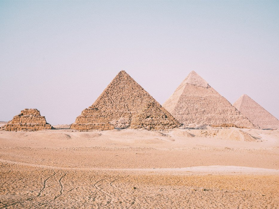 Best Places to Travel in November Pyramids of Giza