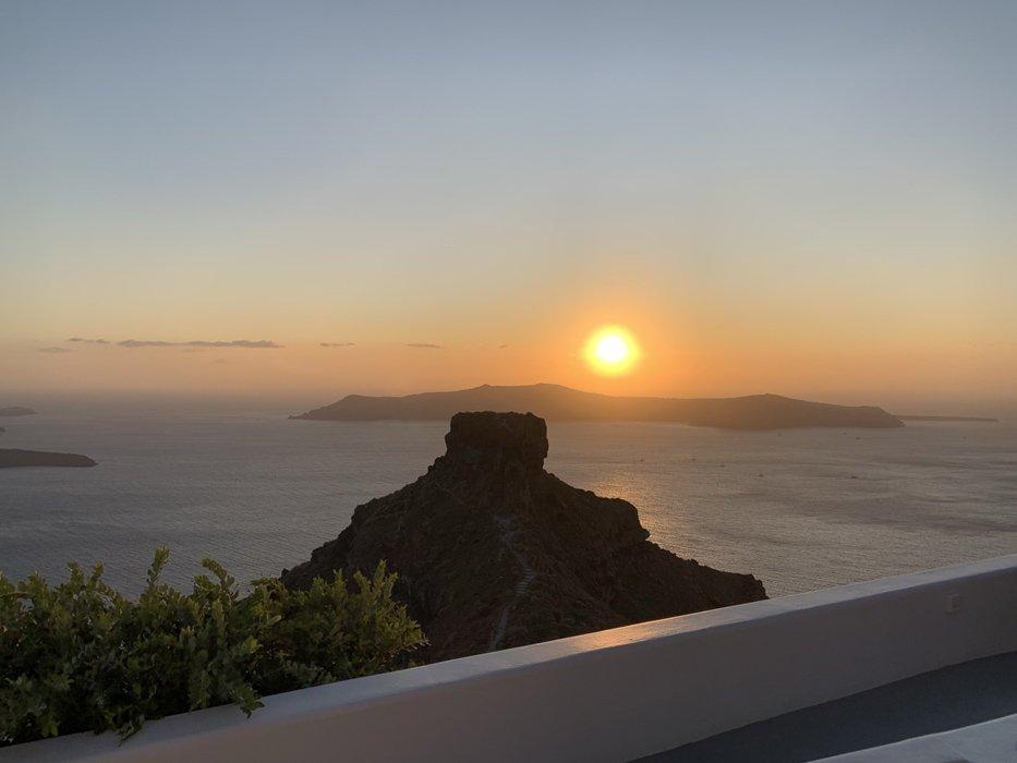3 Days in Santorini Sunset