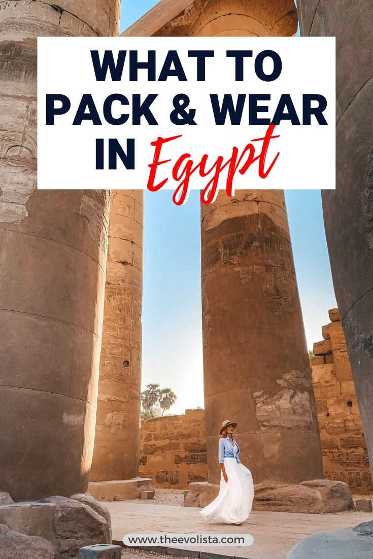 What to Wear in Egypt Pin