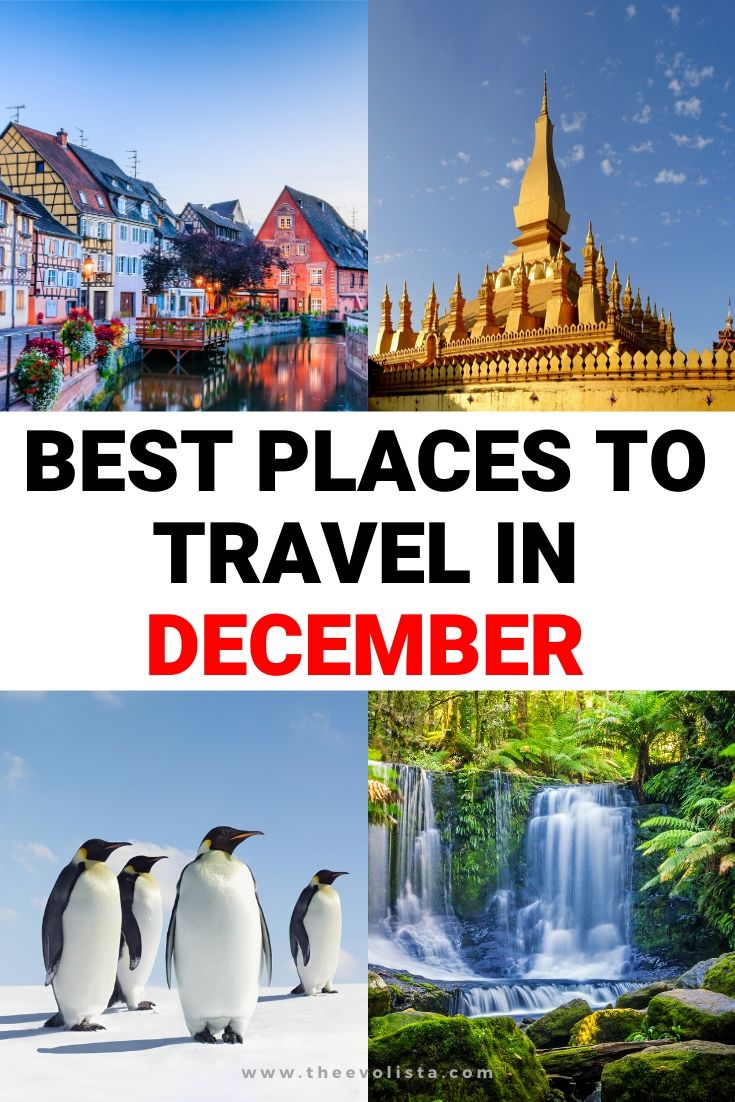 Best Places to Travel in December Pin