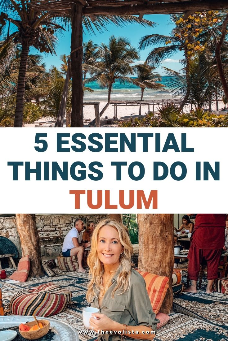Tulum Travel Guide Pin