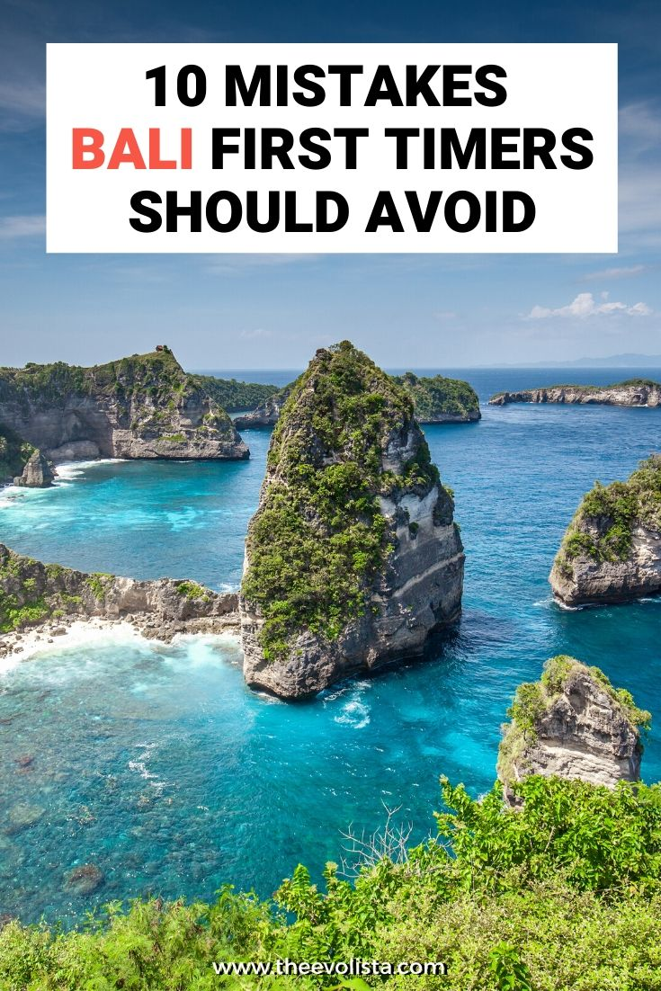 10 Mistakes for Bali First Timers