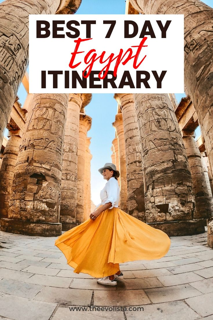 Egypt Itinerary Pin