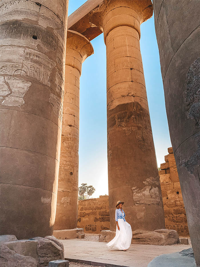 Luxor Temple Dawn