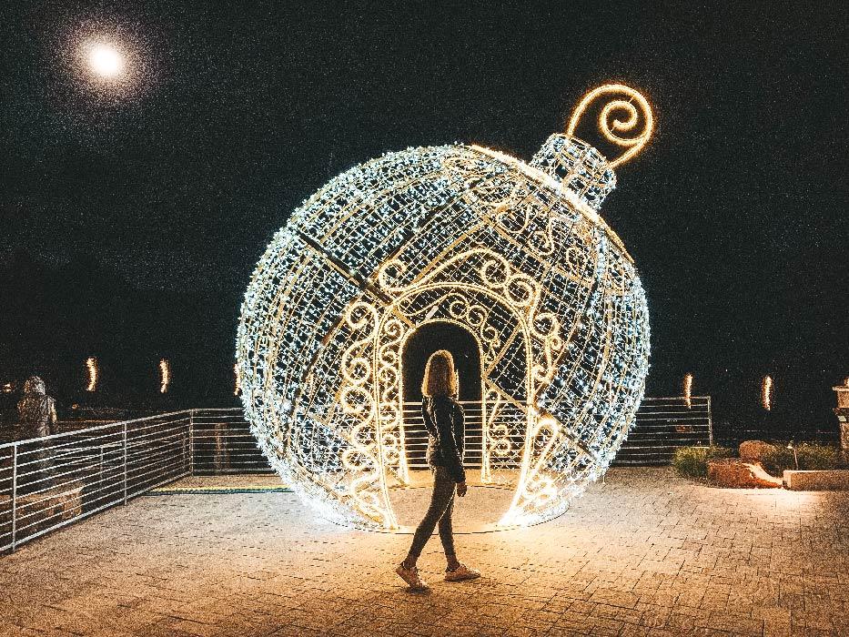 Christmas in Sedona Ornament