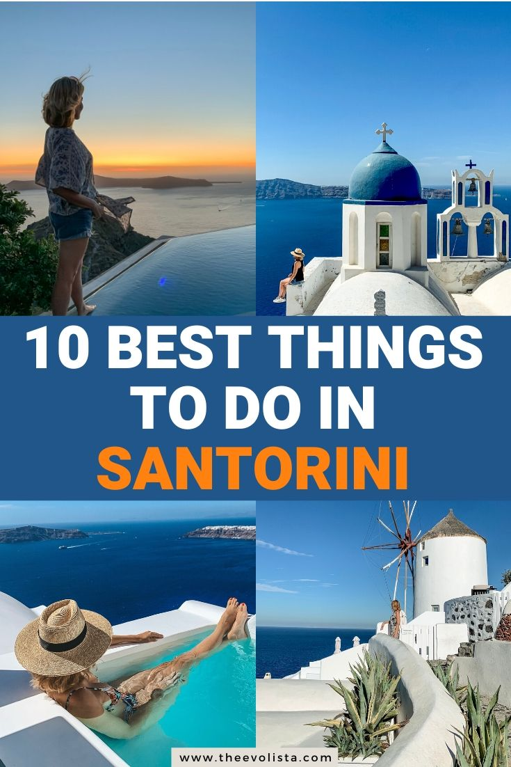 10 Best Things to do in Santorini