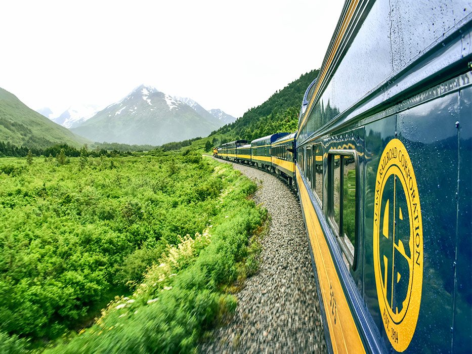 Alaska Railroad to Seward