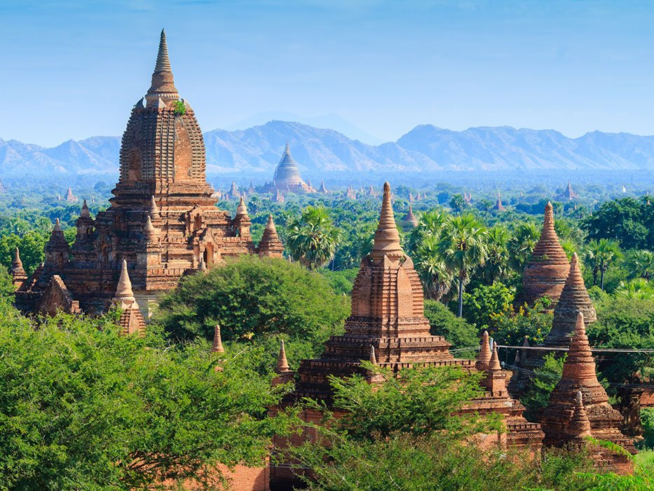 Best Places to Travel in February Myanmar