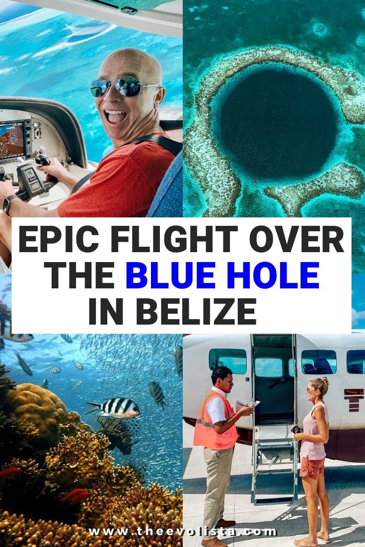Tropic Air Belize Blue Hole Pin