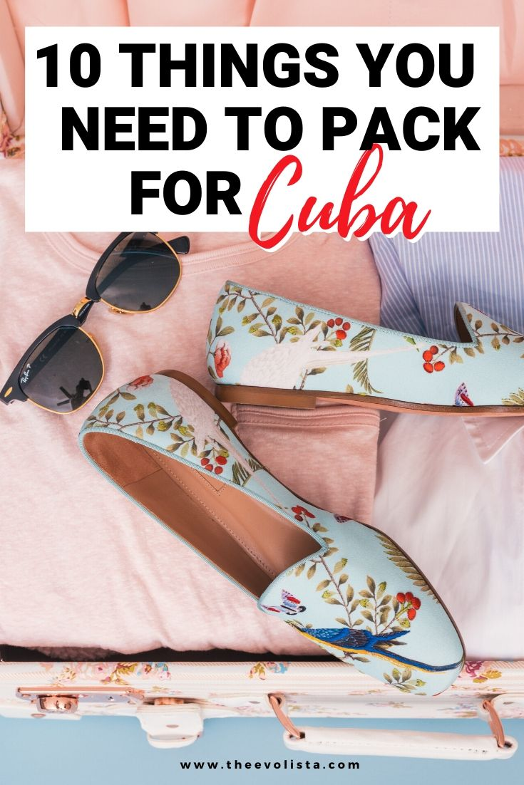 Cuba Packing List Pin