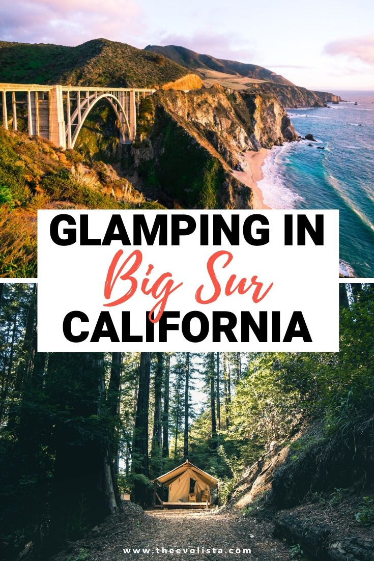 Ventana Glamping in Big Sur Pin