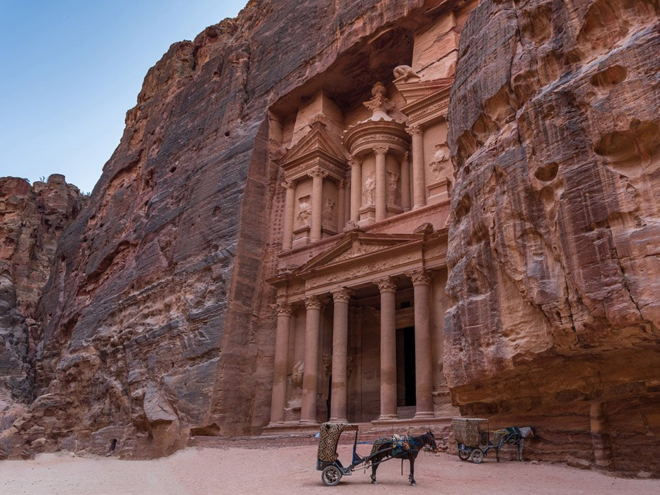 Best Places to Travel in March Petra Jordan
