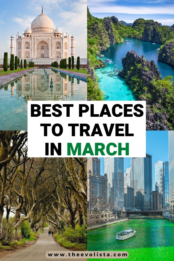 Best Places to Travel in March Pin 2