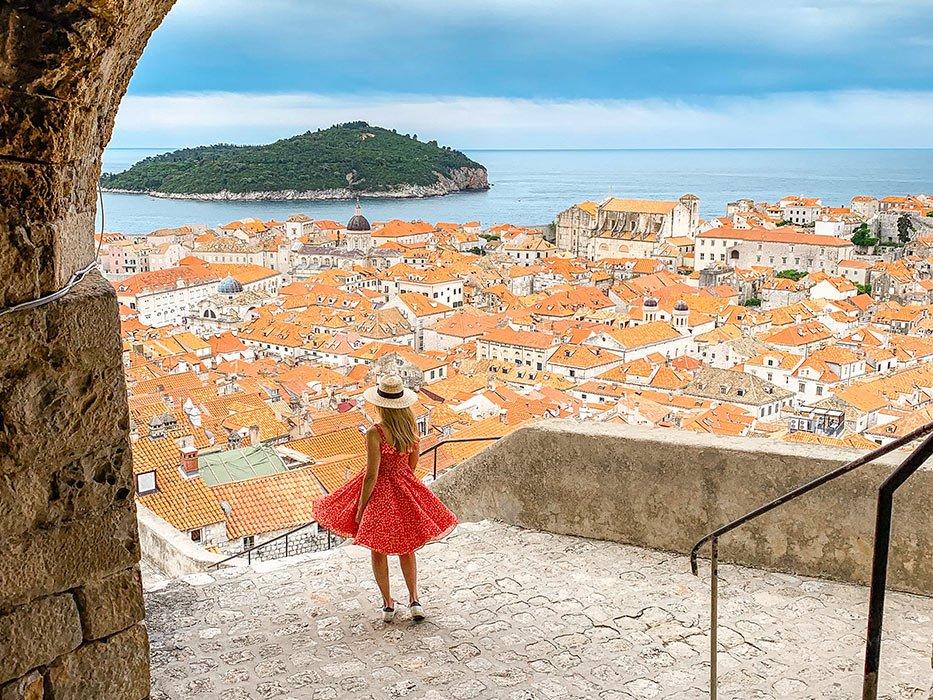 Dubrovnik Itinerary Lokrum View