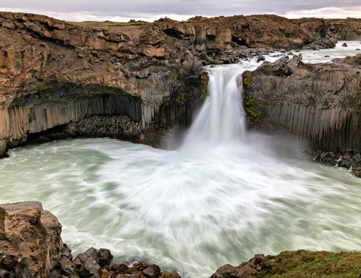 7 day Iceland Itinerary Aldeyjarfoss