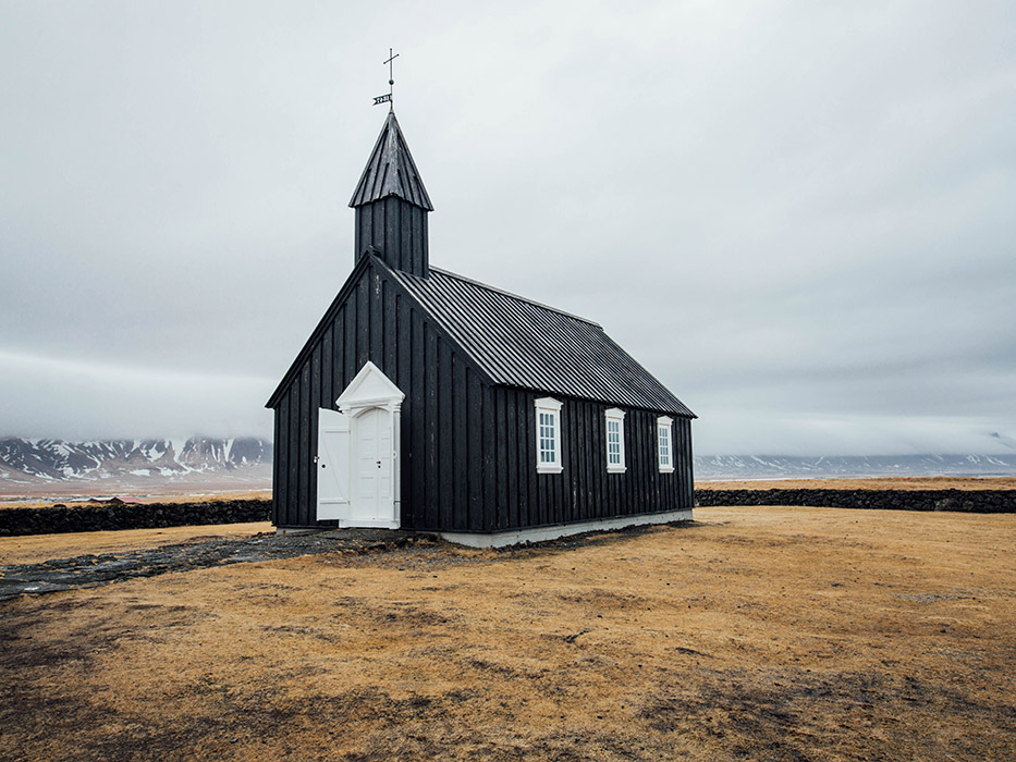 Iceland Itinerary Black Church