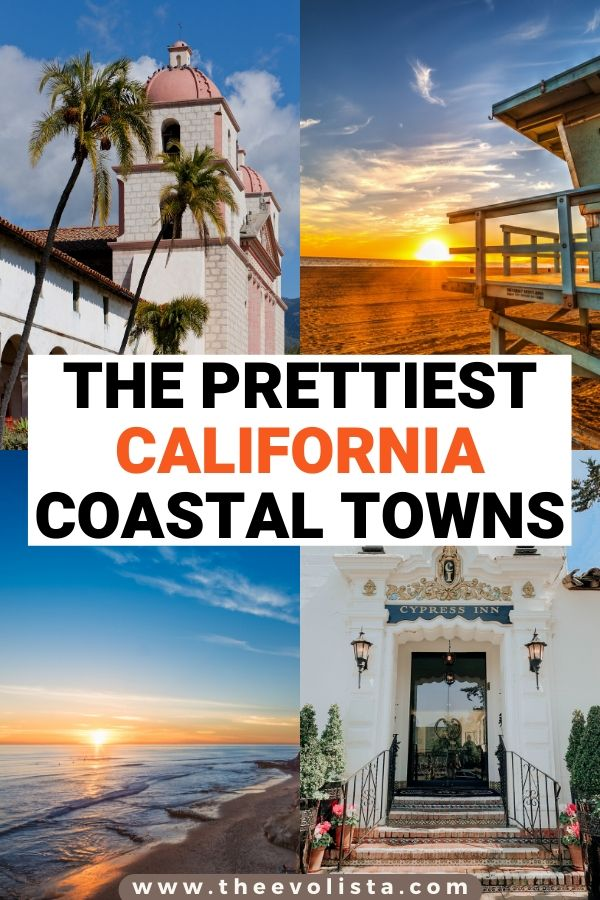 Prettiest California Towns Pin