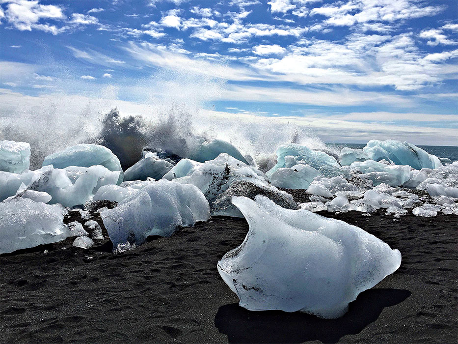 Iceland Ring Road diamond beach