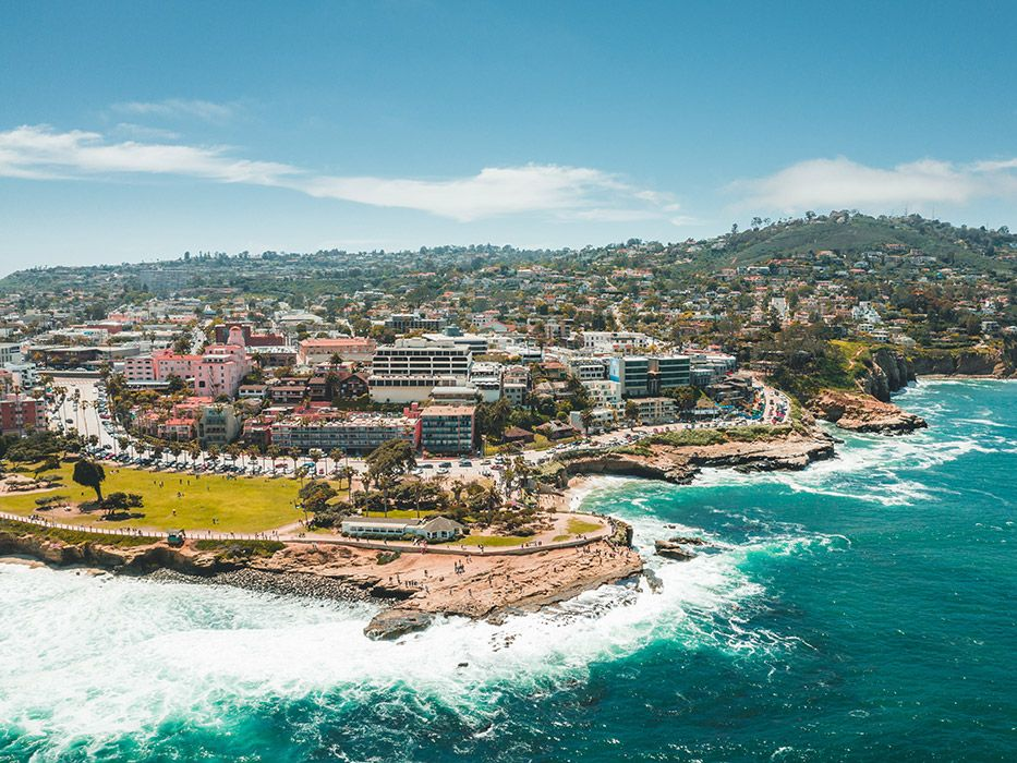 Prettiest California Coastal Towns La Jolla