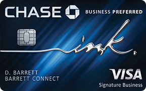 Chase Ink Preferred Card