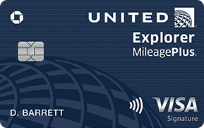 United Explorer Card Credit card offers