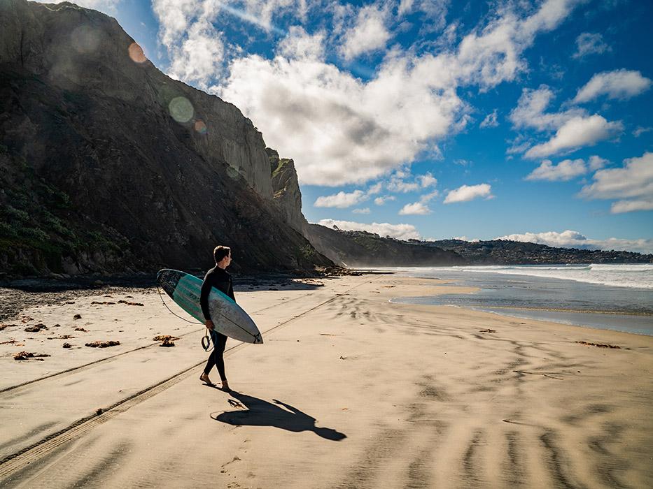 Prettiest Beaches in Southern California Black's Beach