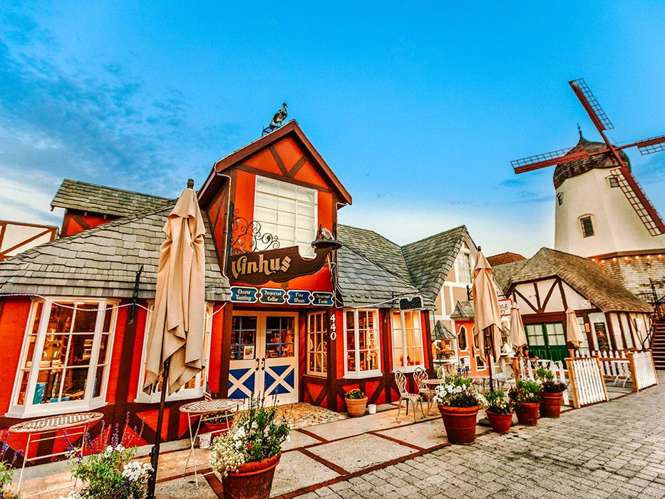 Prettiest Towns in California Solvang