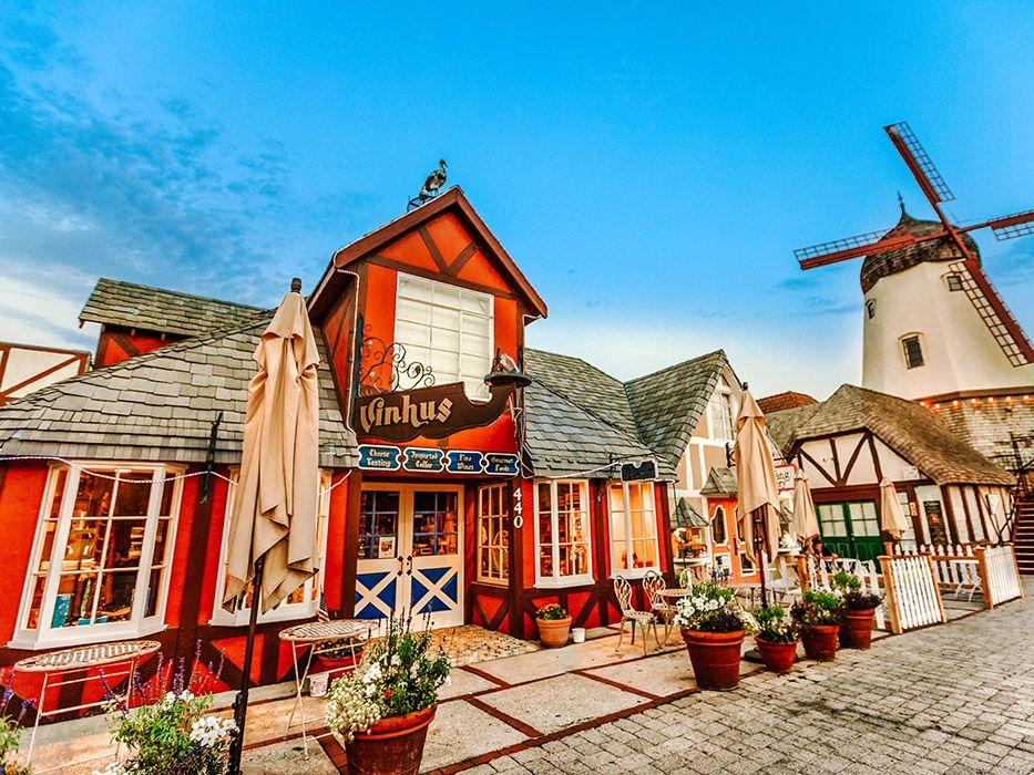 Prettiest Towns in California Solvang